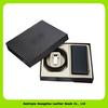 13011 Genuine leather gift set for business men