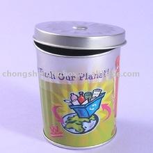 Round exquisite tin boxes fashion tin can