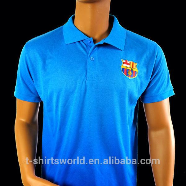 2015 cheap new design poly cotton pique fabric collar sport sublimation polo t shirt