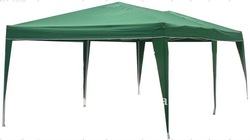 3X6M poly folding gazebo easy up, retractable carport