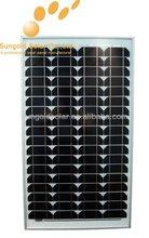 80W monocrystalline solar panel high efficiency in shenzhen