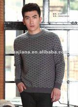 fashion men heavy winter knitwear/100% pure cashmere knits