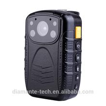 1080P, Infrared, PTT radio, Laser, large battery police video body worn camera body worn camera