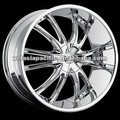 En alliage d'aluminium chrome. tuner. mag roue 20 22 24 26 pouces. bossini