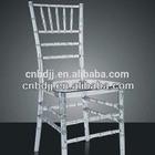 China plastic clear crystal pc polycarbonate white wedding sillas chiavari tiffany chair