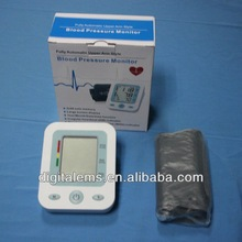 Intelligent automatic inflation via pump and Digital form LCD Blood pressure monitor