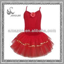 2013 new style red sugar plum fairy dance ballet tutu costumes