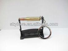 hot selling metal bullet keychain wholesale