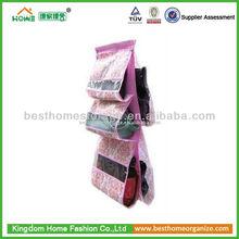 2014 pockets fabric wall hanging storage bag/hanging organizer