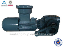 Helical Worm Reducers With Torque Arm