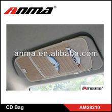 Non-woven car CD bags 12 pieces CD storage