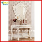 Antique Console Table with Mirror Living Room Furniture