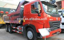 china sinotruk howo A7 6x4 dump truck/tipper truck 266hp