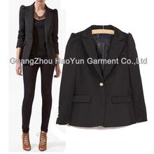 ladies suit design/new high-grade europe long sleeve for ladies suit design