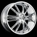 Liga de alumínio cromado Tuner roda Mag 20 22 24 26 polegada BOSSINI