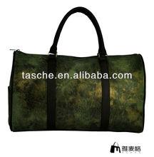 fashion cotton canvas duffel bags big size travelling bag