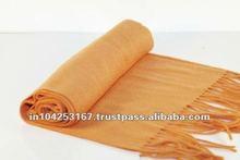 wool silk reversible scarf, pashmina shawls 45% silk 55% pashmina, raw silk long shawls
