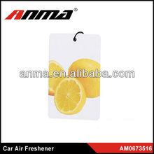 Nice anima cartoon shape hanging paper car air freshener