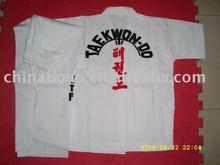 White ITF taekwondo uniform