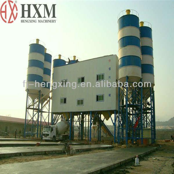 HZS120 Concrete Batching Plant Ready mixed concrete batching plant