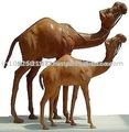 En cuir de chameau jouets, cuir jouets cheval, jouets à bas prix