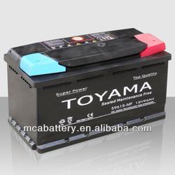 12v DIN MF car Battery auto battery vehicle battery 90-100ah