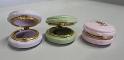 2014 Decorative Customized Jewelry Macaron Resin Trinket Box