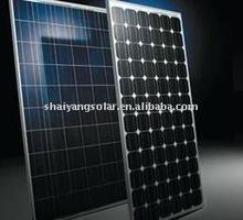 185W Monocrystalline solar panel/solar cell A grade