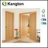 Luxury modern new design interior solid wood panel door