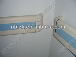 Wall mounted PVC handrail system
