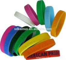Popular silicone wristbands