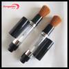 Refillable makeup powder brush,cosmetic powder dispenser brush,retractable powder brush refill