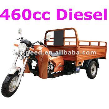 3 wheel motorcycle with diesel engine