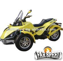 250cc can am spyder roadster, three wheel atv