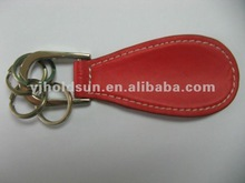 Metal shoe horn with PU covering