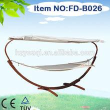 Leisure Popular Hammock high quality wooden hammock with canopy
