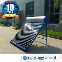 Ejai Solar Technology YYJ-R012-20 passive solar hot water heater, 10 years warranty