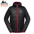 la costumbre europea nuevo estilo de los hombres de pluma de ganso chaqueta para los inviernos