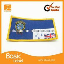 Cheap sport team wear woven patches
