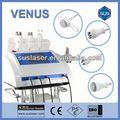 Cabezas 4 portátiles por ultrasonidos cavitación + rf( s50b) ce/iso de pedicura con la máquina de vacío