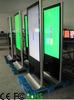 Lobby floor standing 46inch LCD loop AD video totem display player