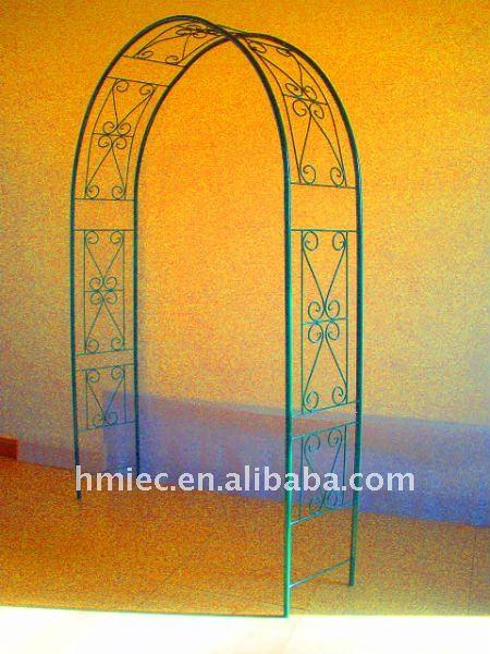 Arc de jardin en fer forg arches pavillon pergola et for Arche de jardin fer forge