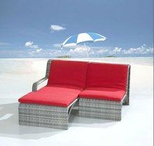 2012 Rattan Outdoor Furniture English Bay Loved Sun Lounge