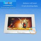 Desktop or wall-mounting 10 inch 800*480 advertising lcd display