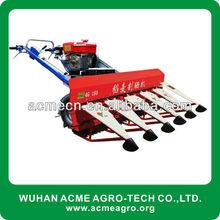 4G rice wheat reaper/mini reaper/walk behind harvester
