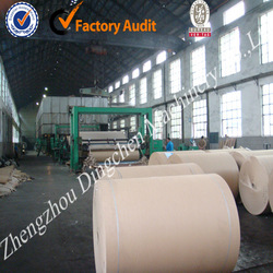 787mm type 2-3 tons small waste paper recycling machinery with high quality