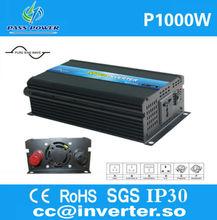 Solar Inverter 12v 220v 1000w Pure Sine Wave Inverter High Frequency Power Inverter Solar System