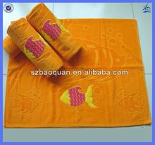100% cotton promotional beach towel jacquard