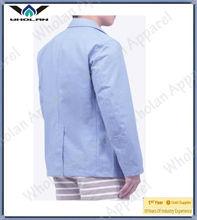 soft washed denim blazer-fashion design blazer for men clothing