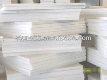 2013 HOT SALES white artificial marble tiles quantity bulks